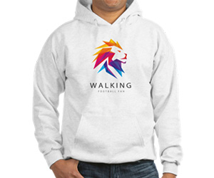 Walking football sweatshirt