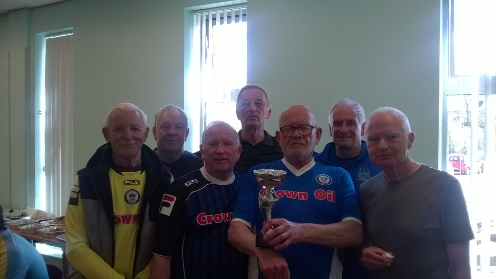 Rochdale AFC Strollers,, Runners Up, Rochdale Over 65's Cup Tournament.jpg