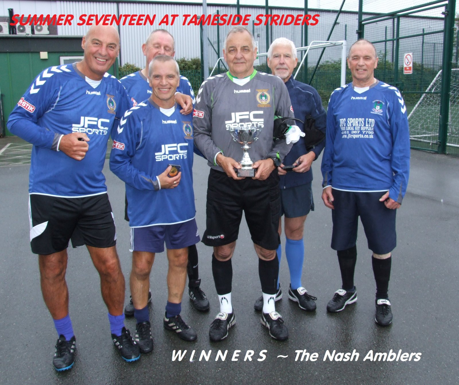 The Nash Amblers crowned at King Street