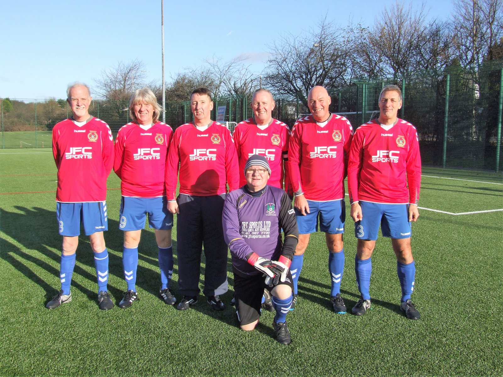Runners-up (walkers up?) at the GMWFL once again. The Nash Amblers.